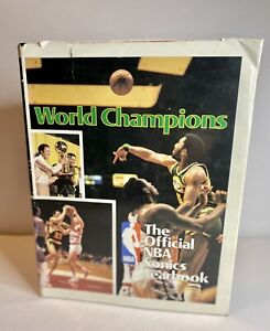 Official NBA Seattle Sonics Yearbook 1978-1979 Champions Hardcover Book Fan Gear