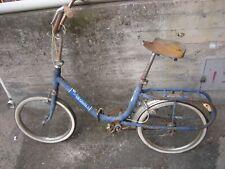 Bicicletta Graziella carnieli misura 20 freno pedale colre blu no olmo mirella