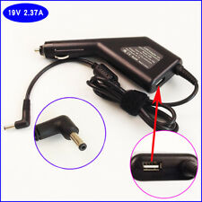 Notebook DC Power Adapter Car Charger +USB For ASUS UX31A-DB51 UX31A-DB52 X453M