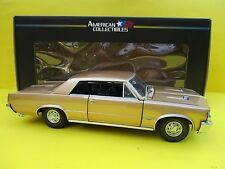 Pontiac GTO (1964) in oro SUN STAR scala 1:18 OVP NUOVO