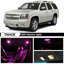 Pink Interior LED Lights Package kit for 2007-2014 Chevy Tahoe