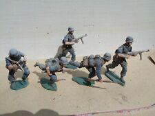 Imrie Risley ww2 German Paratroopers, soldiers   lot of 5 lead 54mm, jj