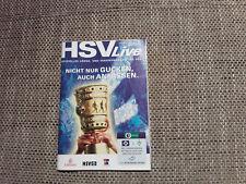 Programm Hamburger SV - Hannover 96/Werder Bremen (BL/DFB Pokal) 08/09