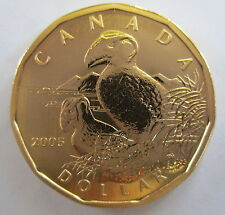2005 CANADA $1 TUFTED PUFFIN SPECIMEN DOLLAR COIN - S