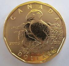 2005 CANADA $1 TUFTED PUFFIN SPECIMEN DOLLAR COIN