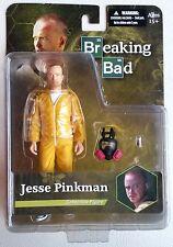 "Mezco Breaking Bad Jesse Pinkman 6"" Action Figure Gas Mask Tray Chili Pepper"