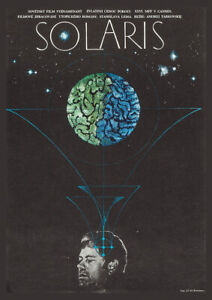 SOLARIS 1972 Solyaris – Andrei Tarkovsky, Classic Movie Cinema Poster Art Print