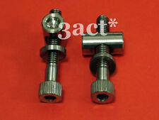 2pcs Titanium/Ti Bolt Thomson Seatpost Bolt Nut Washer save 9 grams