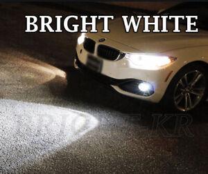 FOR BMW 4 Series F32 F33 F36 SMD LED Fog Light Bulbs- BRIGHT XENON 6000K WHITE