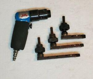 JIFFY AIR TOOL 2800RPM PALM DRILL MODEL 14811 (3)MODULE ATTACHMENT HEAD INC.