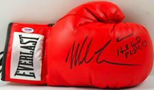Mike Tyson and Evander Holyfield Dual Signed Everlast Boxing Glove PSA DNA ITP