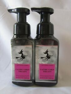 Lot of 2  Bath & Body Works Gently Foaming   CANDY CORN TREATS
