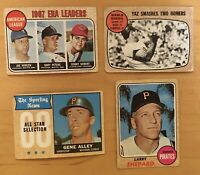 1968 Topps (4) Cards Carl Yastrzemski World Series #152