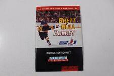 Brett Hull Hockey instruction manual (Super Nintendo, SNES, 1993)