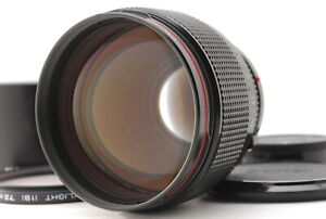 【NEAR MINT  w/Hood】 Canon New FD85mm F1.2 L MF Portrait Lens NFD from JAPAN B37
