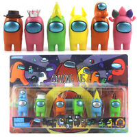 6PCS/Set Among Us Action Figures Collection Dolls Game Toys Kids Birthday Gifts
