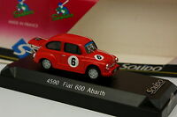 Solido 1/43 - Fiat 600 Abarth Racing