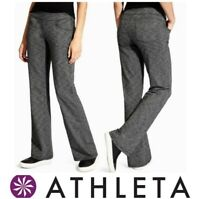 ATHLETA BETTONA WOMEN'S SIZE XXS STRAIGHT LEG YOGA HIKING PANTS DARK GRAY *EUC*