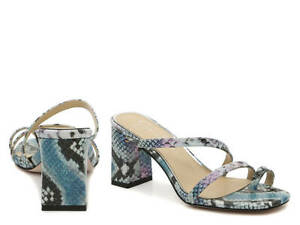 Jessica Simpsons Willmena Sandal Purple Heels Designer Womens Shoes New Size