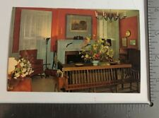 Vintage Postcard Lobby The Golden Lamb Inn Lebanon Ohio