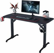 Computer Desk T Shaped Ergonomic Gaming Large Mouse Workstation Office Pc Study