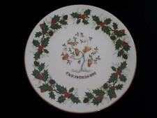 ROYAL GRAFTON 12 DAYS OF CHRISTMAS 5TH EDITION 1980 FIVE GOLD RINGS PLATE