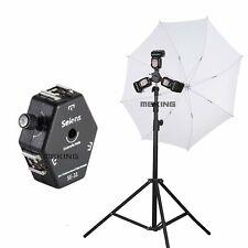 Selens SE-31 Triple Hot Shoe Mount Flash Holder Bracket Light Stand Umbrella