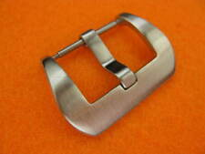 24mm PRE-V Round Edge Spring Bar Brush Stainless Buckle Made for PANERAI 24