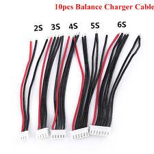10× JST-XH 2S,3S,4S,5S,6S Imax Chargeur Câble de Connecteur d'Équilibre Adapteur