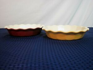 """Emily Henry/Williams-Sonoma 10.5"""" Extra Deep Pie/Quiche Plate. France. NICE."""