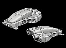Tabletop Miniatur Fahrzeug Hover Car Auto 28mm für Warhammer 40k / Infinity o.Ä.