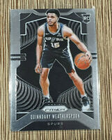 2019-20 Prizm Quinndary Weatherspoon Prizm Rookie RC #285 Spurs 🔥 📈