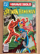 THE BRAVE AND THE BOLD #164 VF 1980 Batman And Hawkman Dr. J Rick Barry Spalding