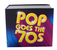 """NEW SEALED! V.A. """"Pop Goes the '70s"""" 10 CD Box Set Time Life Music Discs"""
