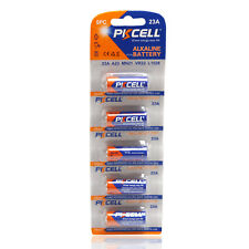 PKCELL 5pcs A23 Batteries 12V 23A Replace A23BP 23 MN21 23GA 23AE 21/23 L1028