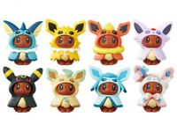 Pokemon Center Eevee Figure Collection Poncho Series All 8 Types