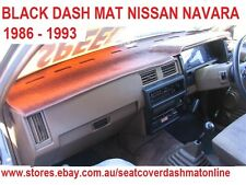DASH MAT, DASHMAT,FIT NISSAN NAVARA,PATHFINDER 1986 - 1993, BLACK