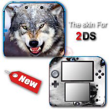 Wolf Cool Atrs SKIN VINYL STICKER DECAL COVER for Nintendo 2DS