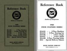 Buick 1923 - Reference Book 1923 Four Cylinder Series: 23-4-34, 23-4-35, 23-4-36