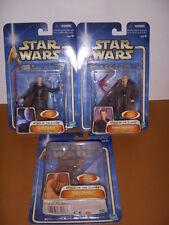 Star Wars, Attack of the Clones, 3 Action Figures, Skywalker, Windu, Tyranus!