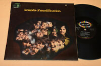 SOUNDS OF MODIFICATION LP 1°ST ORIG ITALY 1969 EX ! TOP PSYCH LAMINATED COVER