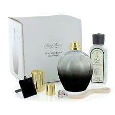 Ashleigh & Burwood Fragrance Lamp Starter Kit Black Lamp & Fresh Linen Scent Set
