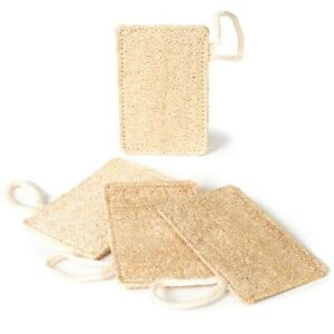 4 Pack Loofah Dish Sponges by New Living Eco Product, UK Seller, Fast Delivery