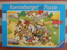 PUZZLE 300 PIECES XXL - RAVENSBURGER - ASTERIX  LA FOLLE BAGARRE - OCCASION