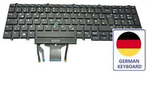 Dell deutsch QWERTZ Tastatur mit Hintergrundbeleuchtung Latitude 5590 5591 2r2p6