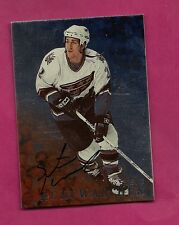 RARE 1998-99 BE A PLAYER # 148 CAPITALS KONOWALCHUK AUTOGRAPH CARD (INV# 9849)