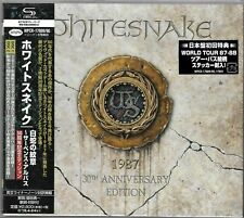 WHITESNAKE 1987 SHM 2CD SET - JAPAN 2017 REMASTER - BRAND NEW/SEALED  JOHN SYKES