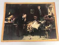 The Doctor De Luxe Reproduction Vintage Print by Fildes