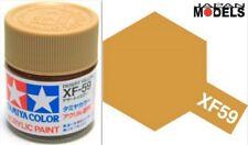 Acrylic Paint - Colore Acrilico 10ml XF-59 XF59 DESERT YELLOW 81759 Tamiya