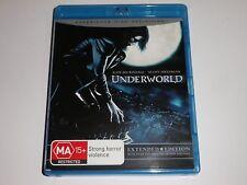 BLU-RAY :  UNDERWORLD - extended edition   /  UNDERWORLD    BLURAY